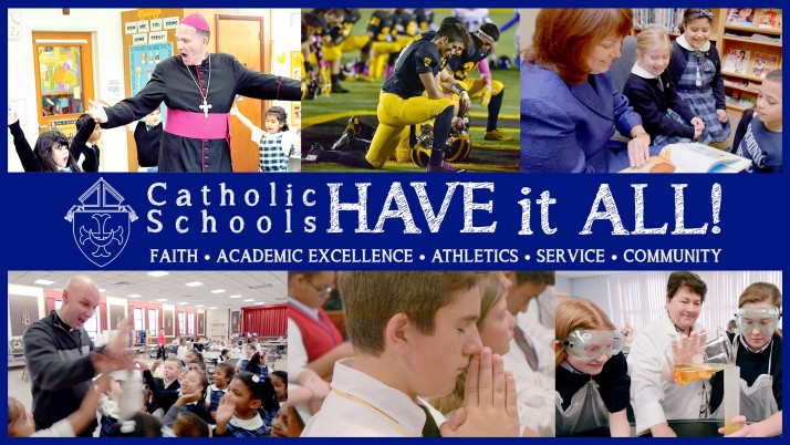 Diocese launches multimedia campaign in support of Catholic schools