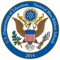2014 National Blue Ribbon Schools Program Logo - St. Gregory the Great Academy students perform Annie, Jr.