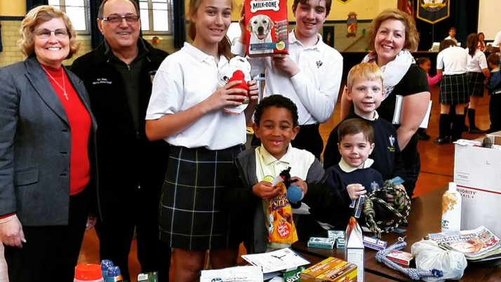 Force of 9,000 Catholic school students making a difference in first Diocesan Day of Service
