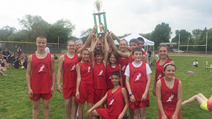 St. Al's finds success at the net, on the track