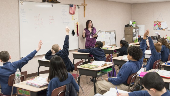 Room to Grow — Schools in Diocese of Trenton find new ways to welcome greater number of students