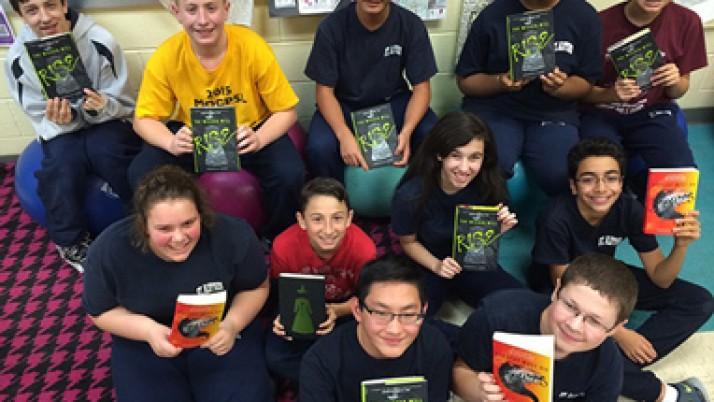 St. Aloysius teacher promote reading among students