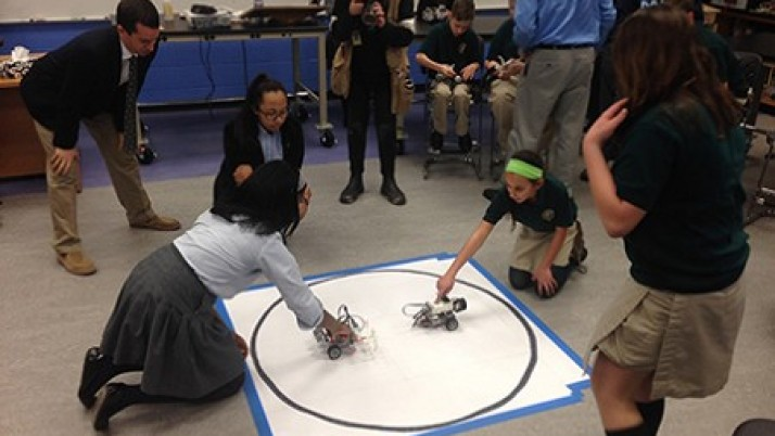 Robotics competition engages St. Paul students' ingenuity