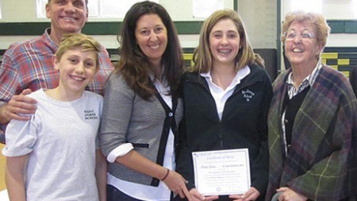 Red Bank student wins Maryknoll essay contest on mercy
