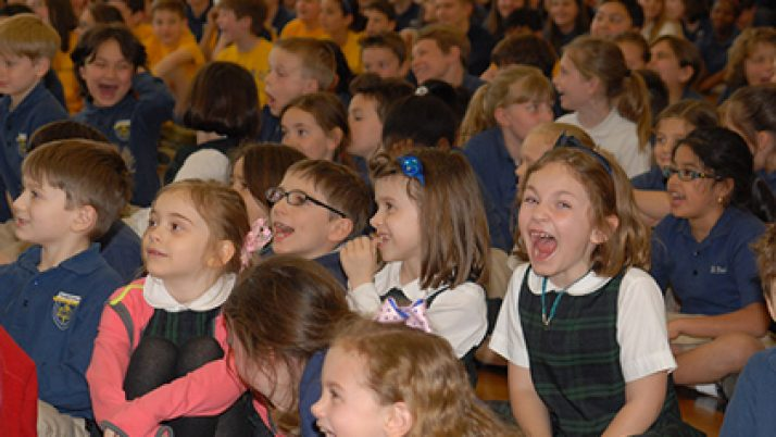 St. Paul School dances and sings with Villalobos musicians