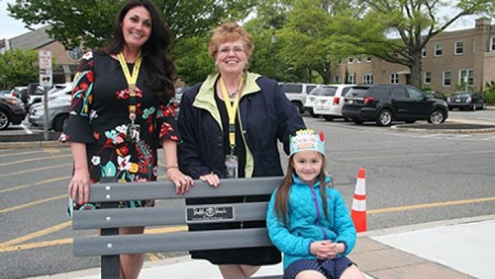 Buddy bench encourages kindness on playground at Toms River school