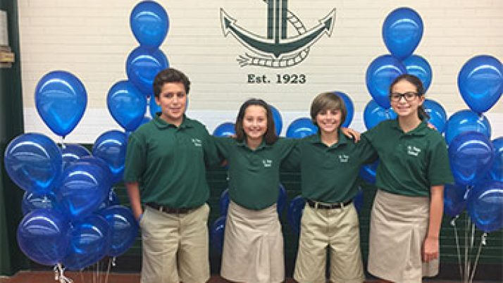 St. Peter School celebrates National Blue Ribbon honor