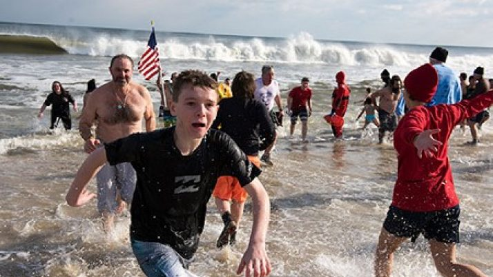 Freezing for the faith: More than 1,000 take plunge to support Catholic education