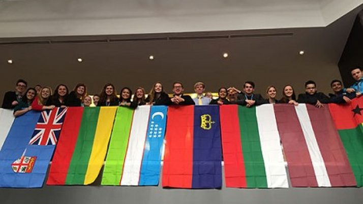 Notre Dame High School students earn national awards in Model United Nations event