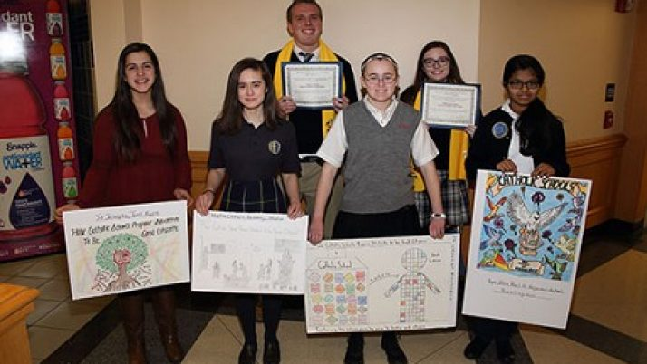 Student poster, video contest winners recognized at State House