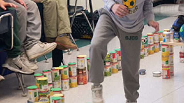 Catholic school students make a difference with Day of Service