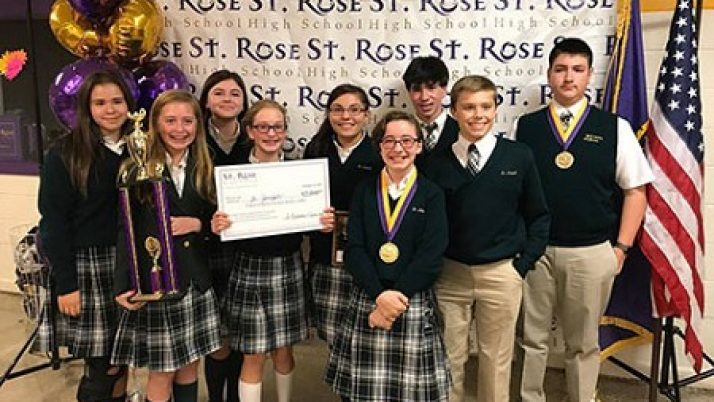 St. Joseph students top field in annual scholastic bowl