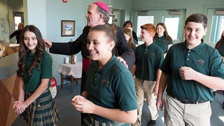 Bishop celebrates 20th jubilee of All Saints Regional