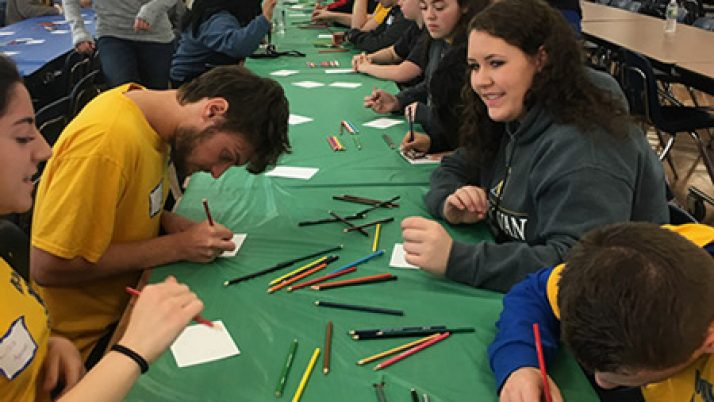 Donovan Catholic teens pray, serve, celebrate as Body of Christ