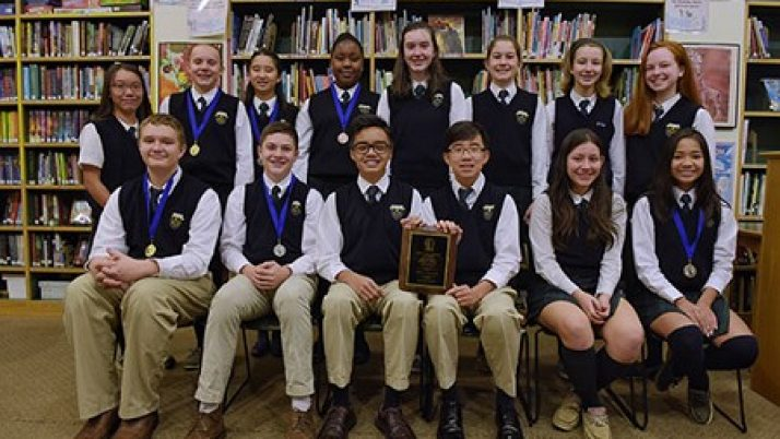 Princeton's St. Paul School clinches Scholastic Olympics, again