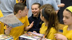 Students across Diocese all smiles on annual Day of Service