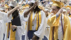 'Dream anything,' SJV grads hear during graduation