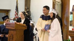 Eighth-grade students take next step in faith