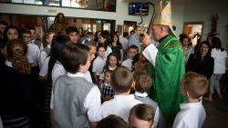 St. Mary Academy receives special blessing from Bishop O'Connell