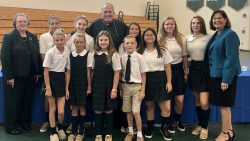 Diocesan PTA members receive words of encouragement from Bishop O'Connell