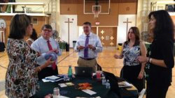 Diocesan staff retirements, important information shared at principals' professional day