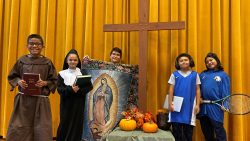 All Saints Day reverently observed in schools around the Diocese
