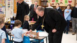 Bishop O'Connell celebrates Advent with Catholic schools