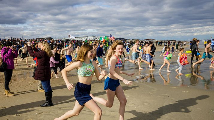 Polar Plungers brave elements to aid Catholic schools