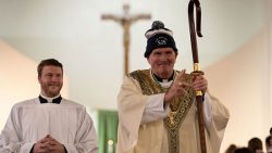 St. Jerome kicks off Catholic Schools Week with visit from Bishop O'Connell