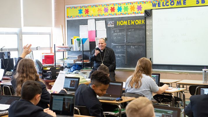 Pandemic offers opportunity of 'renaissance' for Catholic education