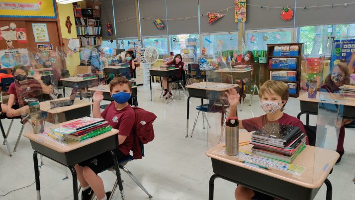 Students begin returning to schools across Diocese