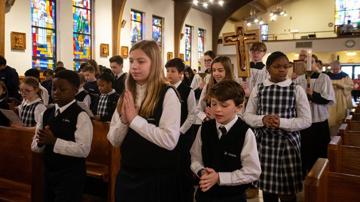 Catholic schools in Diocese live the Gospel values
