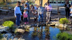 Outdoor learning center a breath of fresh air for Holmdel school